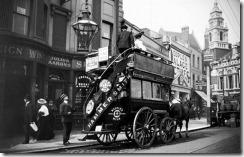 Horse drawn bus